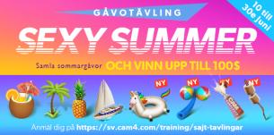 (Avslutad) Sexy Summer – gåvotävling!